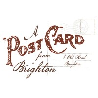 A Postcard From Brighton Starry Sleeve Sweat (Black)