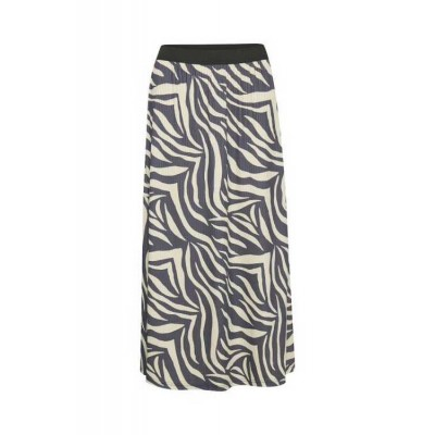 Saint Tropez Slim Fit Zebra Skirt
