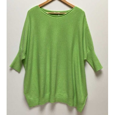 Oversized comfortable jumper – Green