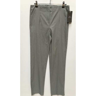 D.E.C.K. by DECOLLAGE  Full length Trousers - Silver grey